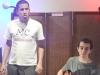 Paulo de Assis (canto) e Rodrigo Tak Ming (guitarra)