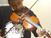 Nosso querido Victor Hugo arrasando no violino.