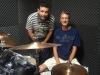 Luiz Flávio e o Professor Cadu