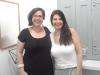 Viviane e a Professora Fátima