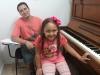 Valentina e o Professor Jorge