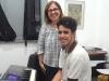 João Pedro e a Professora Valéria