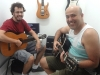Professor Mauro e Romolo