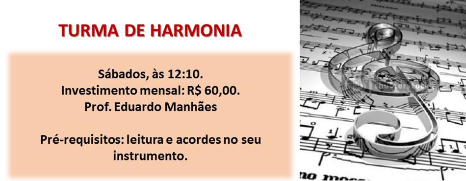 Turma de Harmonia na M&C!