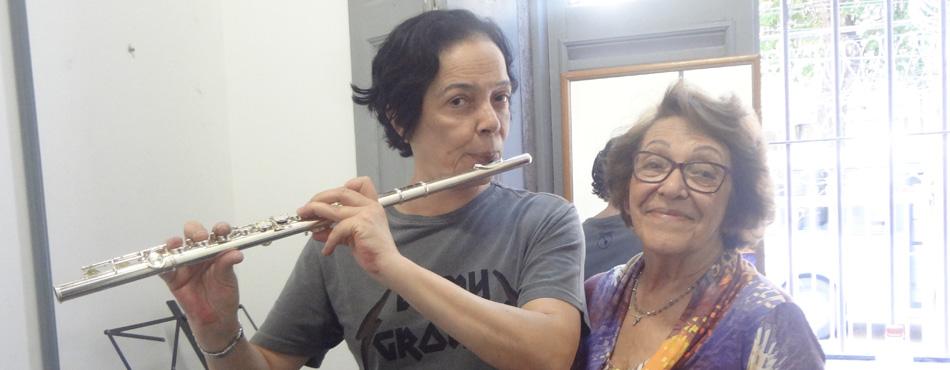 Aulas de Flauta Transversa, Doce